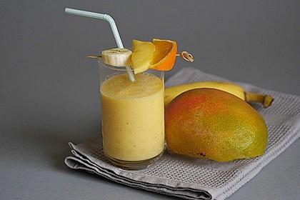 Mango - Bananen - Smoothie