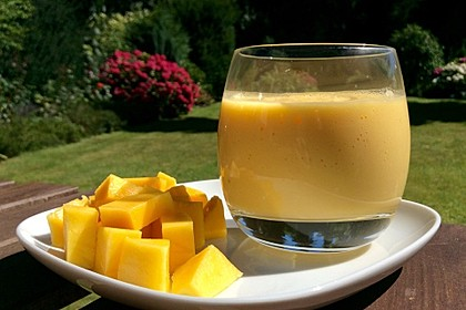 Mango - Bananen - Smoothie 1
