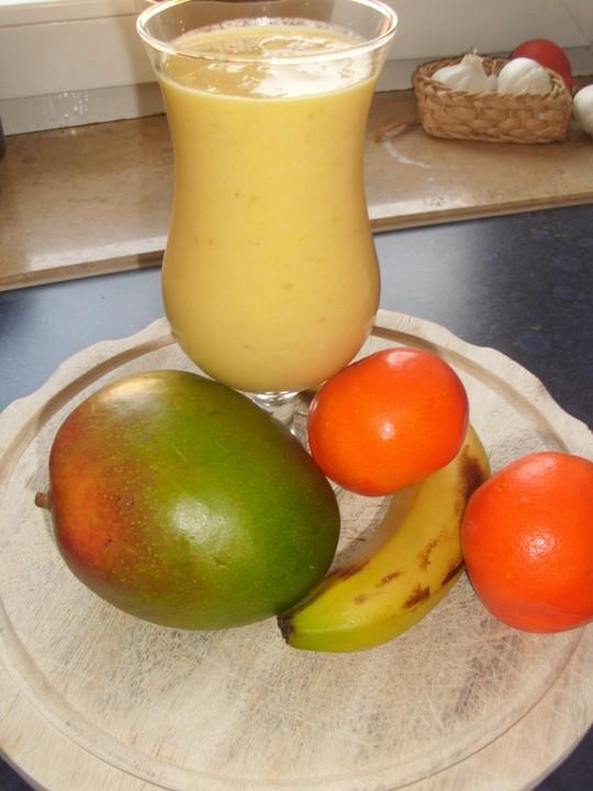 mango bananen smoothie rezept mit bild von w w wanda. Black Bedroom Furniture Sets. Home Design Ideas