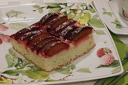 Pflaumenkuchen mit Quark - Öl - Teig 15