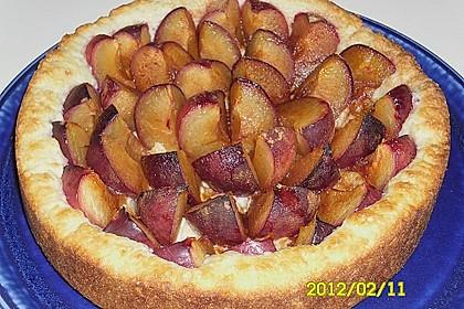Pflaumenkuchen mit Quark - Öl - Teig 14