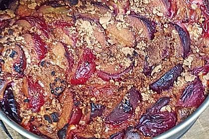 Pflaumenkuchen mit Quark - Öl - Teig 27