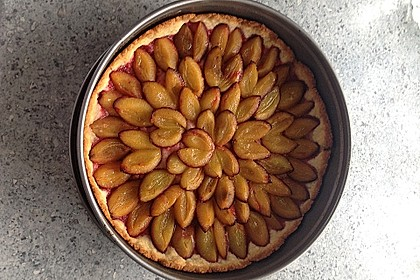 Pflaumenkuchen mit Quark - Öl - Teig 5