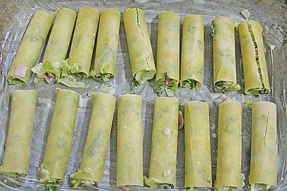Brokkoli - Frischkäse - Cannelloni 1