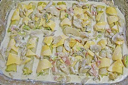 Brokkoli - Frischkäse - Cannelloni 2