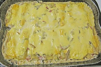 Brokkoli - Frischkäse - Cannelloni