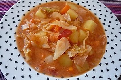 Weißkohl - Möhren - Kartoffel - Eintopf 0