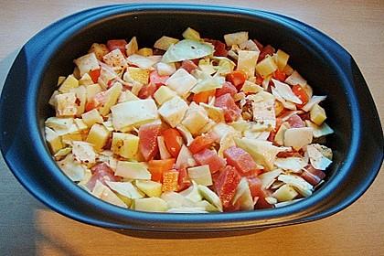 Weißkohl - Möhren - Kartoffel - Eintopf 1
