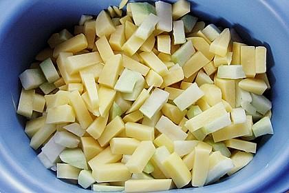 Kohlrabi - Kartoffel - Auflauf