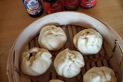 Char siu bao (white buns) 3