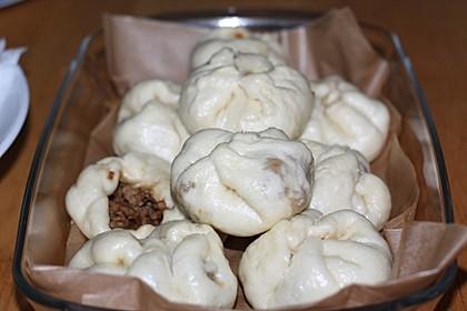 Char siu bao (white buns) 4