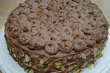 Nougat - Orangencreme - Torte 11