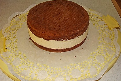 Nougat - Orangencreme - Torte 14
