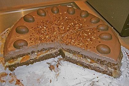 Nougat - Orangencreme - Torte 10