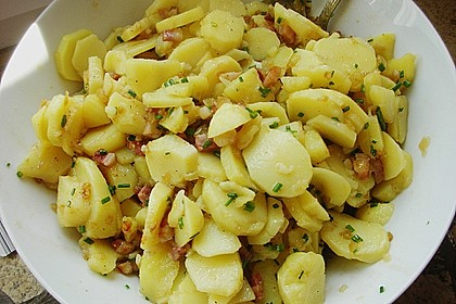 Kartoffelsalat mit Speck 3