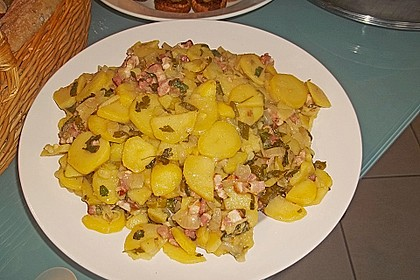 Kartoffelsalat mit Speck 5