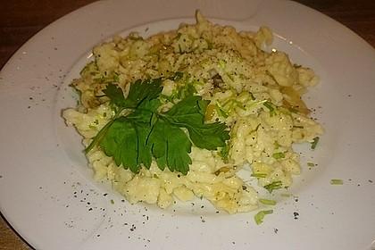 Käsespätzle mit Röstzwiebeln 7
