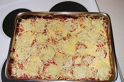 Hackfleisch - Zucchini - Kartoffel - Tomatenauflauf 1