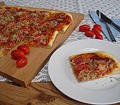 Hefeteig für Pizza