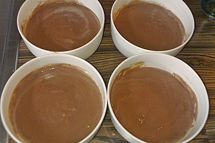 Schokoladenpudding mit Vanille 3