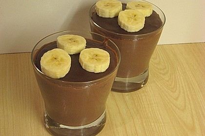Schokoladenpudding mit Vanille 1