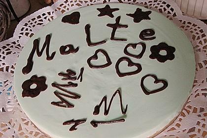 Waldmeister - Philadelphia - Torte 40