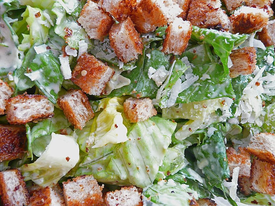 caesar 39 s salad rezept mit bild von fine. Black Bedroom Furniture Sets. Home Design Ideas