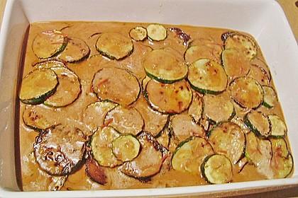 Eingelegte Zucchini und Auberginen 2