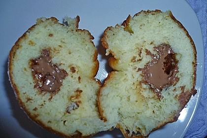 Krapfen mit Schokoladenfüllung 6