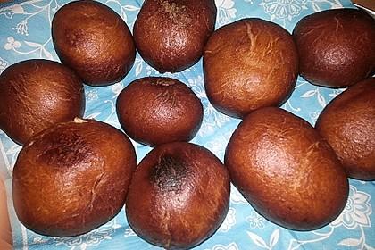 Krapfen mit Schokoladenfüllung 3