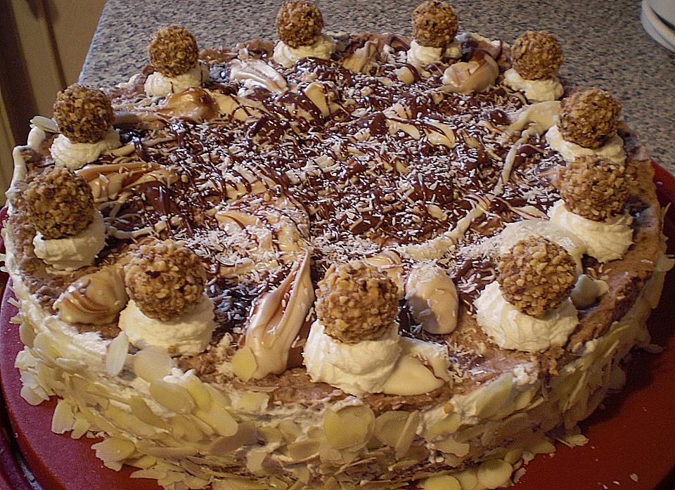 Rocher Torte (Rezept mit Bild) von Sarina-Emilia  Chefkoch.de