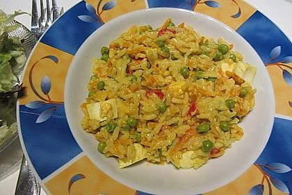 Reis - Gemüse - Pfanne mit Frischkäse 7