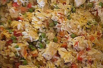 Reis - Gemüse - Pfanne mit Frischkäse 24