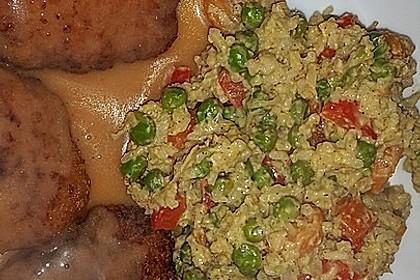 Reis - Gemüse - Pfanne mit Frischkäse 35
