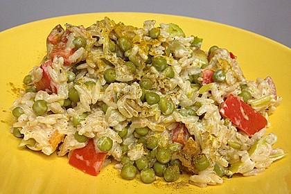 Reis - Gemüse - Pfanne mit Frischkäse 29