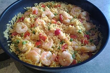 Reis - Gemüse - Pfanne mit Frischkäse 23