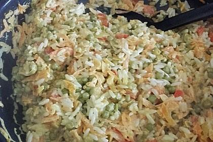 Reis - Gemüse - Pfanne mit Frischkäse 30