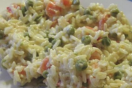 Reis - Gemüse - Pfanne mit Frischkäse 32