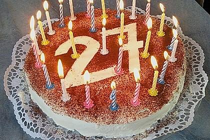 Bailey's - Torte mit Mascarpone 25