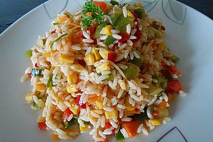 Rezeptbild zum Rezept Reissalat