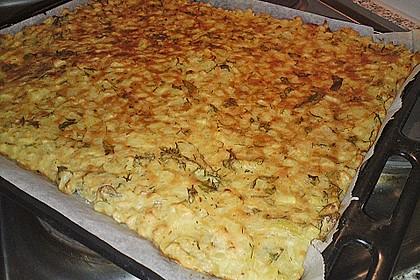 Kartoffel - Blechkuchen 1