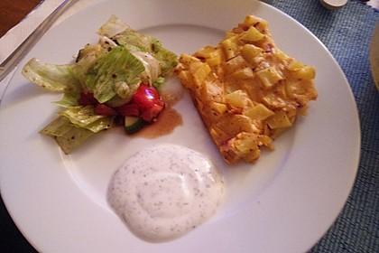 Kartoffel - Blechkuchen 6