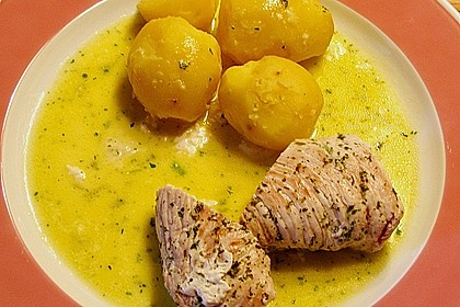 Puten - Mozzarella - Rouladen 2