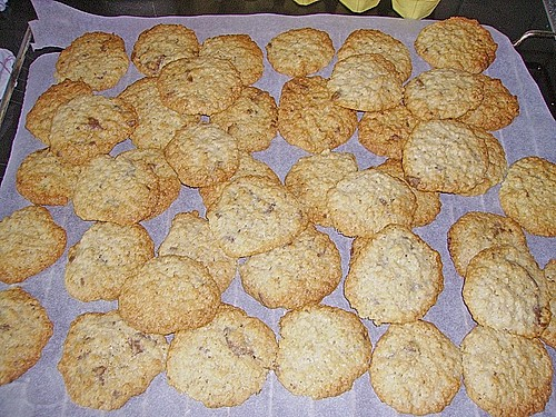 Hafer - Schoko - Cookies 2