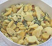 Kartoffelsalat mit Pesto (Bild)