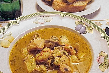 Albertos Fischsuppe 1