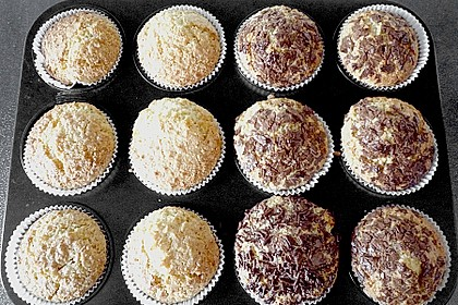 Veganer Schoko - Nuss - Kokos - Kuchen 13