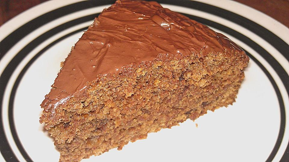 Veganer Schoko - Nuss - Kokos - Kuchen (Rezept mit Bild) | Chefkoch.de