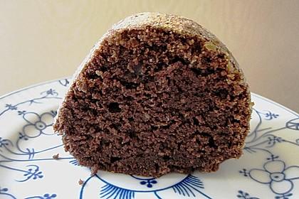 Veganer Schoko - Nuss - Kokos - Kuchen 20