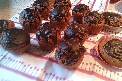 Veganer Schoko - Nuss - Kokos - Kuchen 51